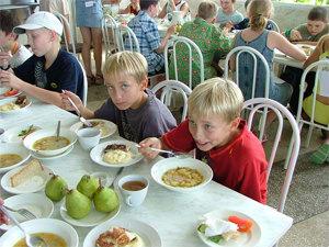 О здоровом питании детей
