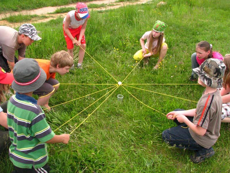 Командные конкурсы с детьми