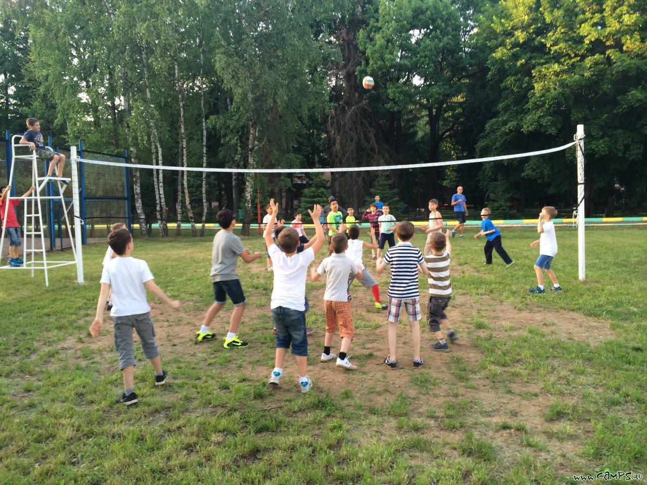 Спортивный лагерь для детей фото